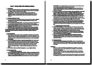 T. Annius Milon (Pro Milone) - Cicéron (52 av. J.-C.) - Analyse partie par partie