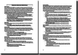 Roberto Zucco - Bernard-Marie Koltès (1988) - Etude des mythes dans le texte