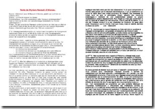 La crise sans fin - Revault d'Allones (2012) - Entretien
