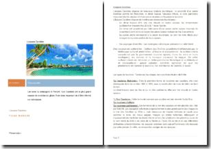 Le tourisme aux Caraïbes