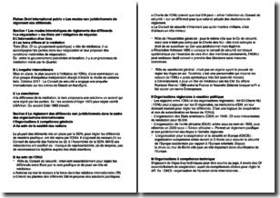 Droit international public - Les modes non juridictionnels de règlement des différends