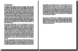 Témoignage d'un rescapé du massacre d'Oradour-sur-Glane, le 10 juin 1944 - Pierre Poitevin (1944)