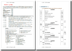 Exercice de réalisation du calcul de la TVA d'une entreprise