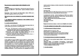 Une gouvernance européenne depuis le traité de Maastricht en 1992