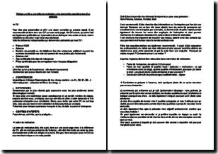Comment rédiger un CV avec lettre de motivation et questions éventuelles d'un recruteur