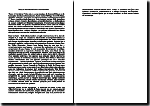 Theory of International Politics, chapitre 4 - Kenneth Waltz (1979)