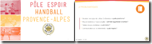Pole espoir handball Provence Alpes