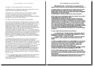 Sciences administrative et nouvelle gestion publique - La place de la science administrative dans les sciences sociales