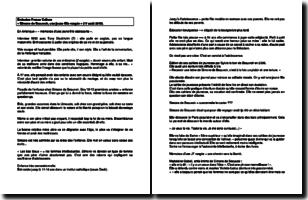 Émission France Culture - Simone de Beauvoir, une jeune fille rangée (17 août 2015)