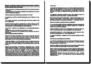 Emission Les Mémoires de Simone de Beauvoir avec Jean-Louis Jeanelle - France Culture (vendredi 18 mai 2018)