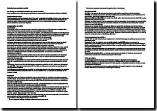 Droit des sociétés - La SNC (société en nom collectif)