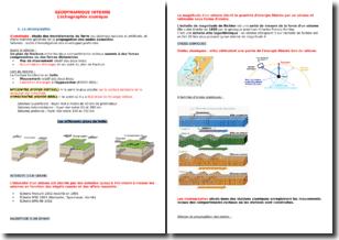 Géodynamique Interne - L'échographie sismique