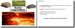 Minéralogie - Les roches magmatiques
