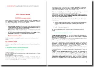 La règlementation de l'activité bancaire - La réception de fonds