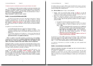 L'évolution du système monétaire international et du système financier international