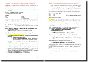 Les établissements de crédit en France : caractéristiques et évolutions