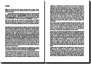Synthèse de trois textes sur le thème de la révolte au temps de la Seconde Guerre mondiale