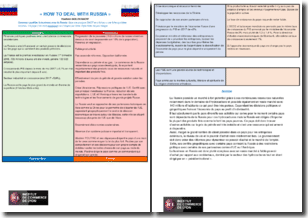How to deal with Russia - Vladimir Golovanow : synthèse et analyse SWOT