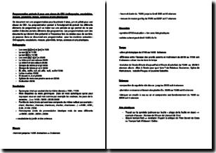 Programmation période 5 pour une classe de CE1 (orthographe, vocabulaire, mesure, géométrie, temps, sciences et arts plastiques)