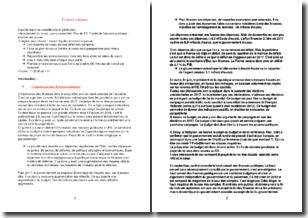 Finances publiques - Le cadre juridique des finances publiques et les finances de l'État