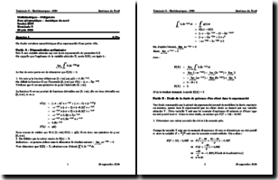 Corrigé du Bac S Mathématiques d'Amérique du Nord (session 2018)