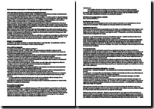 Droit international privé - L'identification de la règle de conflit de lois