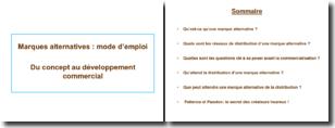 Marques alternatives : mode d'emploi - Du concept au développement commercial