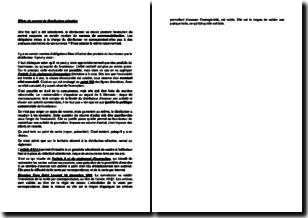 Effets du contrat de distribution sélective