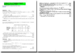 Mathématiques terminale S - Exercices et corrigés
