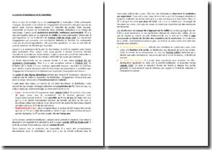 Le contrat d'assistance et de fourniture