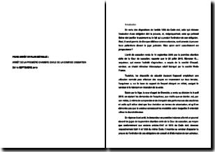 Cour de cassation, première chambre civile, 19 septembre 2019 - Les conditions de la démonstration de la preuve de l'acquittement de l'obligation d'information - Plan détaillé