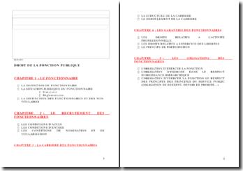 Droit de la fonction publique (version 3)