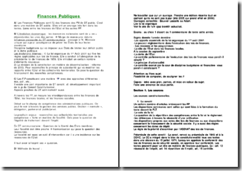 Finances publiques version 2