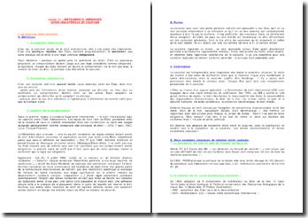 Instruments juridiques, actes unilatéraux et coutume