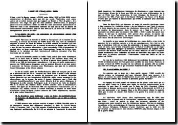 L'ONU ET L'IRAQ (1990 2003)