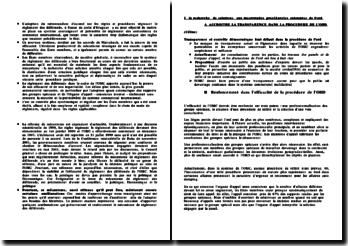 La réforme de l'Organe de Réglement des Différends (ORD)