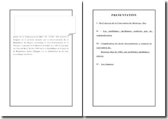 Etude de la Communication Réf : 06. 15-007. 004 : a position adoptée par le Gouvernement de la République de Chypre