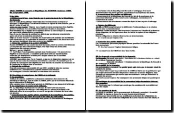 Affaire GOETZ et consorts c/ République du BURUNDI Sentence CIRDI Du 2 septembre 1998.