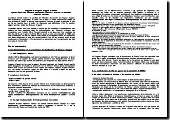 Rapport de l'organe d'appel de l'OMC - Affaire États-Unis ?Normes concernant l'essence nouvelle et ancienne f