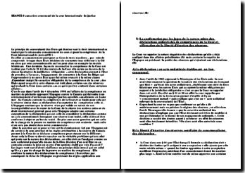 CIJ, 4 décembre 1998, Pêcheries