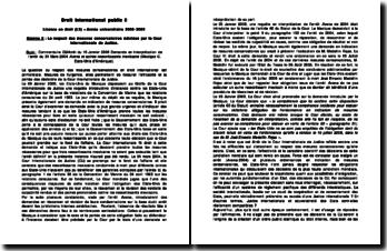 CIJ 19 Janvier 2009 - Demande en interprétation de l'arrêt du 31 Mars 2004 - Avena et autres ressortissants mexicain