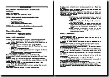 Droit européen (version 2)