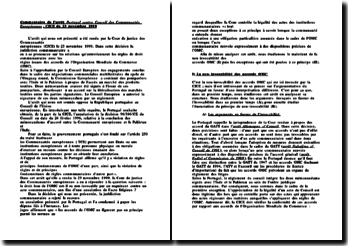 CJCE, 23 novembre 1999, Portugal contre Conseil des Communautés Européennes