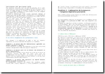 La jurisprudence Cassis de Dijon - CJCE 20 février 1979, Rewe Zentral, 120/78