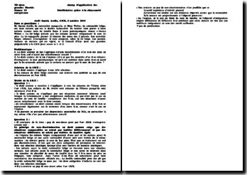 CJCE, 2 octobre 2003, Garcia Avello