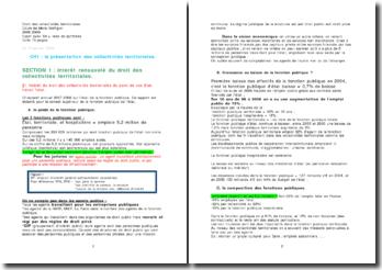 Droit des collectivités territoriales (L3 + prépa concours)
