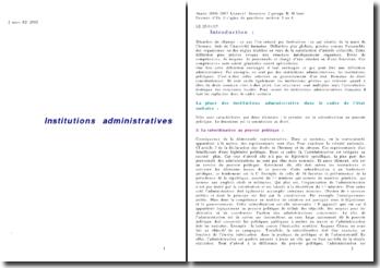 Institutions administratives - L1 (autre version)