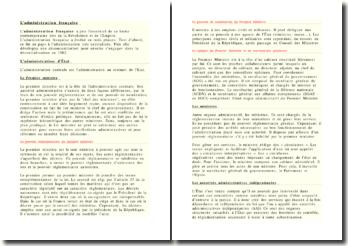 L'administration francaise