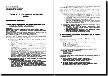 Le contrat dans l'action administrative