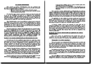 Les contrats administratifs (version 3)
